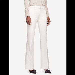 Ann Taylor Devin Flannel Pant